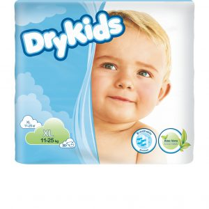 TENA DRY KIDS XL